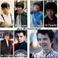 Asa through the years