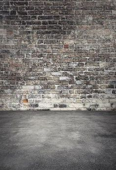 Graffiti Brick Wall Art Photography Backdrop F-2435