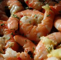 Shrimp just marinated - shrimp Fish Recipes, Seafood Recipes, Asian Recipes, Cooking Recipes, Healthy Recipes, I Love Food, Good Food, Yummy Food, Fingers Food