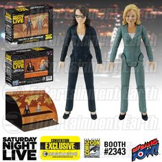 SDCC Exclusive: Entertainment Earth Reveals Amy Poehler and Tina Fey Weekend Update Figures! | Nerdist