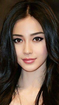 Posted by Sifu Derek Frearson Most Beautiful Faces, Beautiful Girl Image, Beautiful Asian Women, Beautiful Celebrities, Beautiful Eyes, Beauty Full Girl, Real Beauty, Asian Beauty, Beauty Women