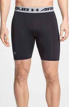 Men's Under Armour HeatGear UPF 30+ Compression Shorts