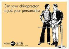 Chiropractic Humor. :)