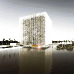 Federal National Council's New Parliament Building Complex / Paul Stallan Studio