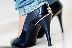 Chanel Heels. somethingt0fear.tumblr.com