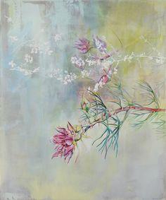 Hope Aries, 120 x 900cm, oil on canvas. #fleursdelamotte #oilpaint #fynbos # blushingbride Aries, South African Artists, Flourish, Flower Art, Illustration Art, My Arts, Van, Symbols, Abstract