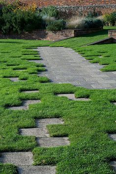 Tiles on Grass