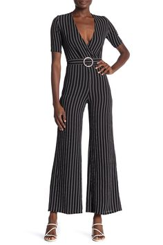 Sweatwater Womens Playsuit Spaghetti Strap Low-Out Baggy Fit Solid Rompers Jumpsuits