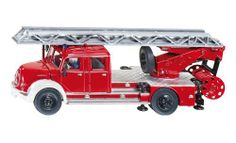 Siku Magirus Fire Engine by Siku. $29.99. The wheels are welded to the axles & tires made of rubber for long lasting play!. Part of the #1 line of die cast vehicles.. This durable Siku item has moving parts.. Quality die cast Magirus Fire Engine is a super classic antique replica!. The German engineering quality shows in the details and strength of the product.. From the Manufacturer                Magirus Fire Engine- Quality die cast Magirus Fire Engine is a su...