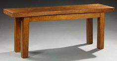 Console en acajou massif Coffee Tables, Natural Wood, Dining Bench, Primitive, Modern Furniture, Console, Arts And Crafts, Woodworking, Interiors