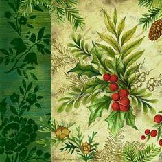 Winter Decor Holly -- by Elena Vladykina