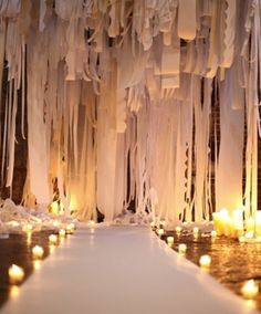 love this for a ceremony backdrop