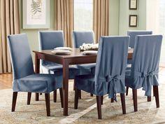 Чехлы на стулья своими руками: фото, выкройки, как сшить чехлы на стулья со спинкой, на стулья для кухни, пошив универсальных накидок