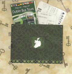 8x8 Ireland scrapbook layout page 18