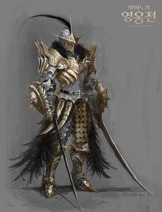 ArtStation - plate armor design, celder art