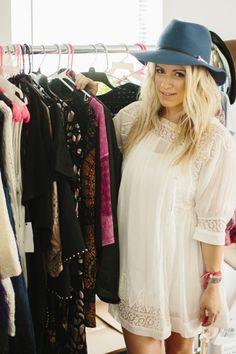Style At Home: Jen Coleman Of Ascot + Hart | theglitterguide.com // dress: ascotandhart.com