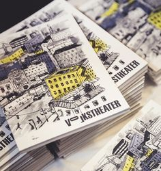 Volkstheater Wien sucht nach Künstlern für #Illustrationen #corporatedesign #corporateidentity