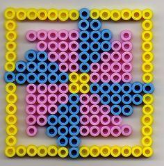 Viereck Bügelperlen/  Square perler beads