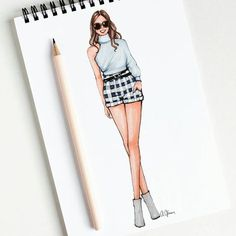 Ideas for fashion drawing dresses easy Dress Drawing Easy, Dress Design Drawing, Dress Design Sketches, Fashion Design Sketchbook, Fashion Design Drawings, Fashion Sketches, Drawing Style, Drawing Drawing, Drawing Sketches