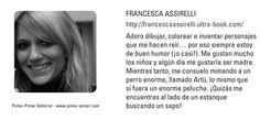 """Francesca Assirelli  """"Mi hermana es una mofeta"""""""