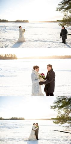 An Australian bride and a Finnish groom decided to have an open air chapel Winter Wedding in Finland. First look photos, fun games and lots of snow! Chapel Wedding, Winter Weddings, Finland, Archive, Groom, Bride, Photography, Wedding Bride, Photograph