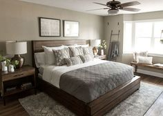 Season 4 Fixer Upper | Episode 7 | Chip & Joanna Gaines | The Mexia Major House | Master Bedroom | Waco, TX