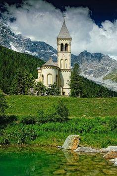 Trentino-Alto Adige, N Italy  St. Gertrud, Ortler #italy #italia #travel