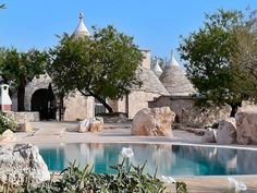 3 Bedroom 'Trullo' Villa with Large Grounds and Private Pool near Alberobello, Puglia, Italy, Trullo Patrizia Santa Lucia, Dry Stone, Vacation Villas, Vacation Rentals, Italy Vacation, Luxury Holidays, Ideal Home, Swimming Pools, House Rentals