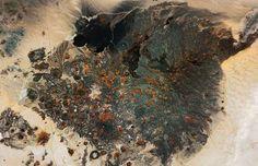 El Pinacate and Gran Desierto de Altar Biosphere Reserve (Mexico):satelite Image NASA