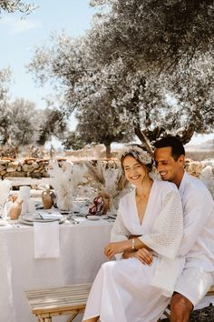 beautiful, laid-back Mediterranean wedding inspiration shoot from Greece filled with dreamy boho details and styling ideas Next Wedding, Wedding Shoot, Wedding Couples, Wedding Ideas, Wedding Dresses, Destination Wedding Inspiration, Destination Wedding Photographer, Outdoor Wedding Reception, Outdoor Weddings