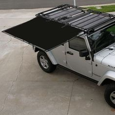 Sir-Shade™ Telescoping Awning System JK for Gobi Rack – Sir-Vivor Jeep Jk, Jeep Truck, Jeep Wrangler Accessories, Truck Accessories, Sw4 Toyota, Carros Suzuki, Gobi Rack, Jeep Wrangler Upgrades, Camping Accessories