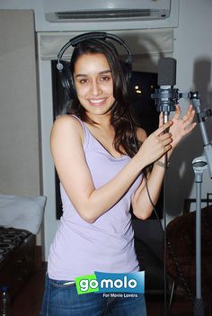 Shraddha Kapoor at Rap song recording of Hindi movie 'ABCD 2' in Mumbai