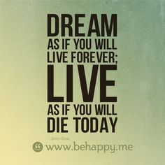 dream and live #behappy