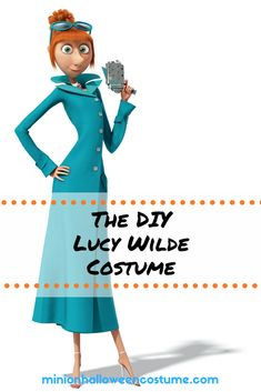Lucy Wilde Despicable Me Costume - Minion Halloween Costume
