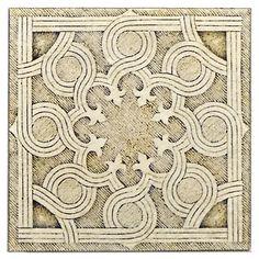 Labyrinth Flow Pattern-Sand shown on Limestone