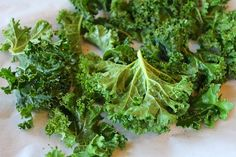 These kale chips are done in 15 minutes, making them an incredibly easy and delicious side dish or snack.