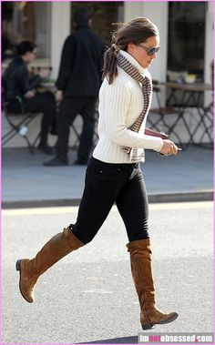 Seriously, anytime I see Pippa Middleton I stop feeling bad about being muscular instead of skinny.