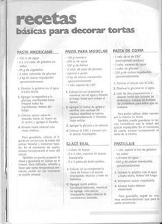 Archivo de álbumes Bakery Recipes, Restaurant Recipes, Cookie Recipes, Dessert Recipes, Desserts, Fondant Cakes, Cupcake Cakes, Frosting Techniques, Icing Frosting