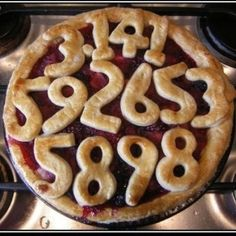 This may be the coolest pi-inspired pie we've seen.