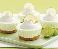 Key Lime Pie Key Lime Pie Recipes - Key Lime Desserts - Use gluten free chex or graham crackers for crust.Key Lime Pie Recipes - Key Lime Desserts - Use gluten free chex or graham crackers for crust. Low Carb Desserts, Just Desserts, Delicious Desserts, Dessert Recipes, Yummy Food, Pie Recipes, Shrimp Recipes, Cheesecake Recipes, Keylime Cheesecake Recipe