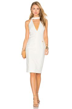 Bronx and Banco Loulou Dress in White | REVOLVE