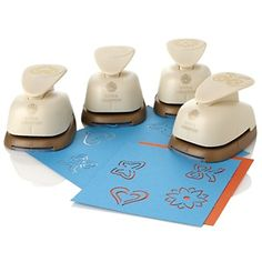 Anna Griffin® 3D Paper Punches - Set of 4 at HSN.com.