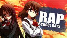 RAP DE SCHOOL DAYS - Una Historia de Amor | Rapnime - Briox MC Rap, Videos Anime, School Days, Youtube, Music, Love Story, Musica, Musik, Wraps