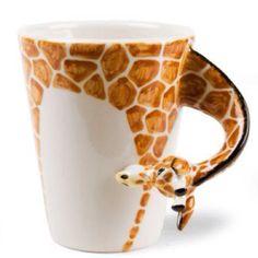 A cup of giraffe