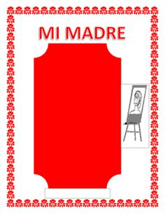 """Spanish Mother's Day- """"Mi Madre""""-- Physical & Personality Traits from La Señora H on TeachersNotebook.com -  (6 pages)  - This exciting lesson is the perfect tool to celebrate Mother's Day in your classroom. You will be able to review colors, physical characteristics and adjectives in Spanish."""