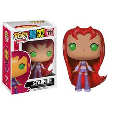 Pop! Teen Titans Starfire Vinyl Figure : Forbidden Planet