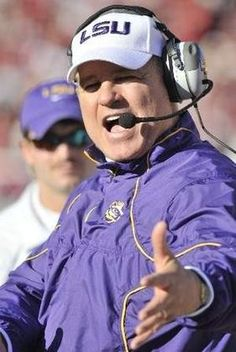 lsu football coach les miles - Google Search