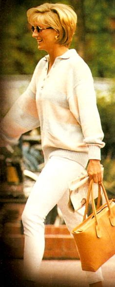 Princess Diana -- love this style