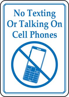 No Cell Phone Zone Wooden Stenciled Sign | Technology, Dining room ...