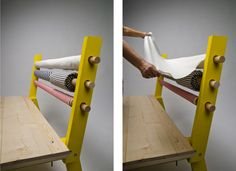 Fabric Bolts Got Your Back: Bolt Bench in home furnishings  Category